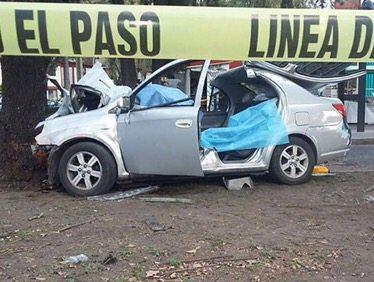 Mueren dos personas en accidente al sur de la CDMX