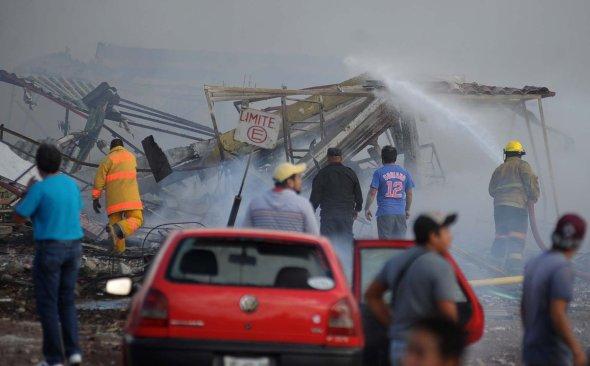 Así se vivió la explosión en Tultepec, estado de México