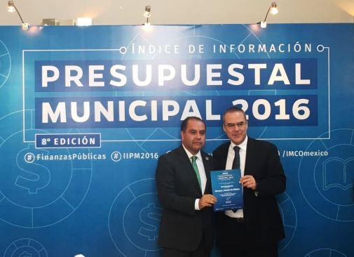 Metepec el municipio más transparente del país: IMCO