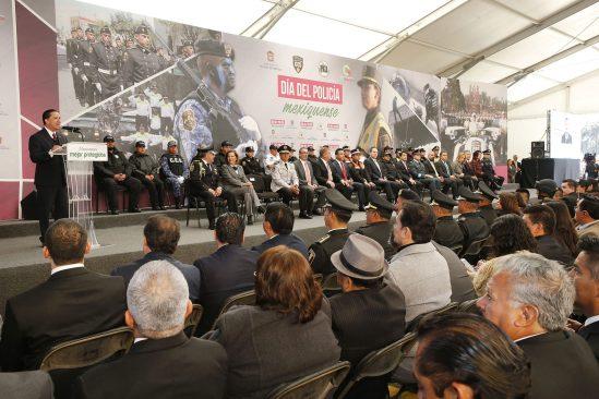 Avala UAEM preparación de la policía mexiquense