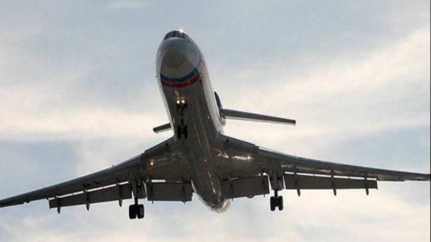 Avión ruso se estrella en el Mar Negro con 91 personas a bordo