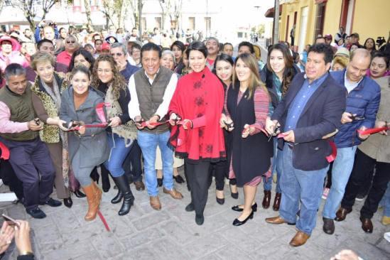 Gestiona Olga Esquivel 2.5 millones para restaurar del museo virreinal de Zinacantepec