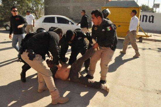 Violento desalojo en en instalaciones de Pemex en Monclova