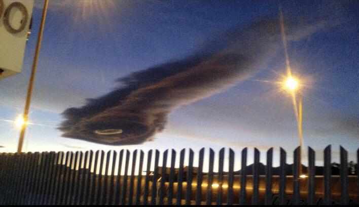FOTOS: Extraño fenómeno meteorológico sorprende a Michoacán