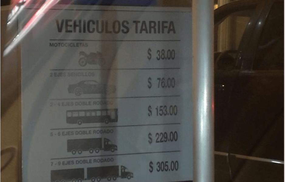Molestia por el aumento de peaje en la México-Toluca causa