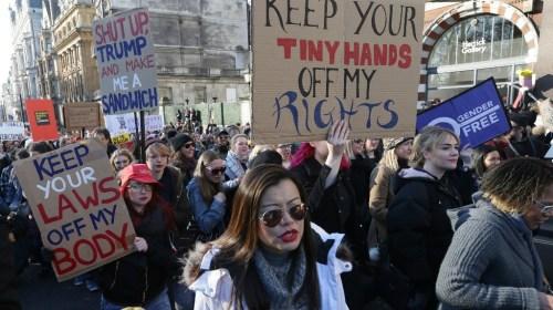 Marchas en Londres y Berlín apoyan manifestación en Washington