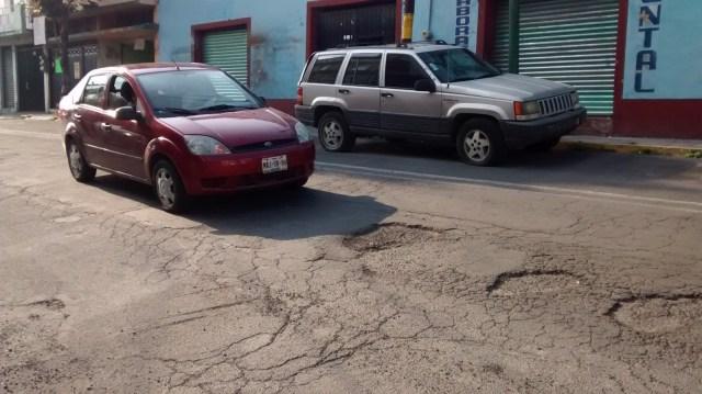 Siguen los baches en Toluca; anuncian nuevo programa de repavimentación