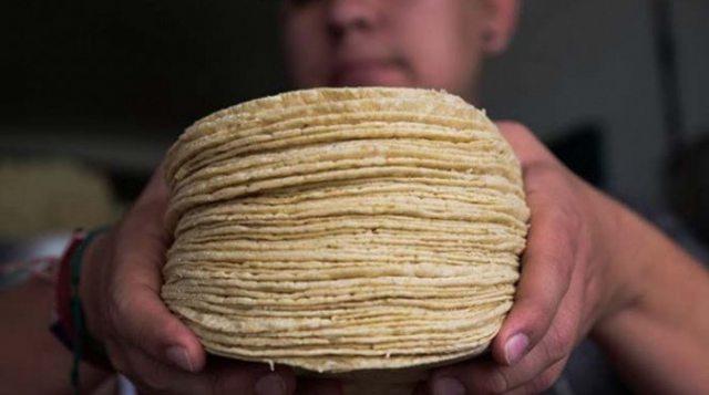 """""""Tortillazo"""", hasta en 19 peos el kilo"""