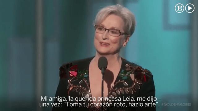 Meryl Streep recuerda como Trump se burlo de un reportero