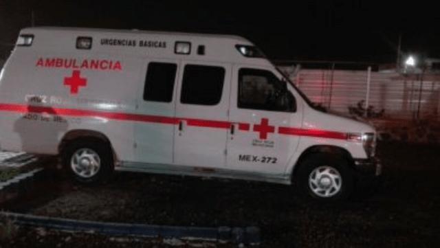 Asesinan a dos paramédicos de al Cruz Roja y a un oficial de la CES en el Estado de México