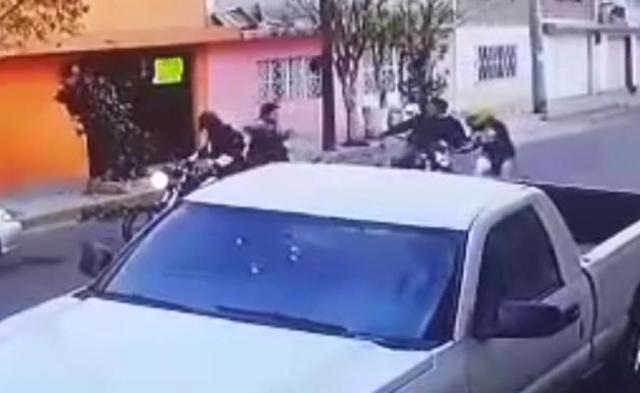 Video: Captan asalto a motociclista en Ecatepec