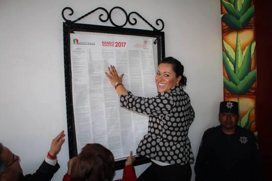 Anna María Chimal Velasco, realizó la promulgación del Bando Municipal 2017