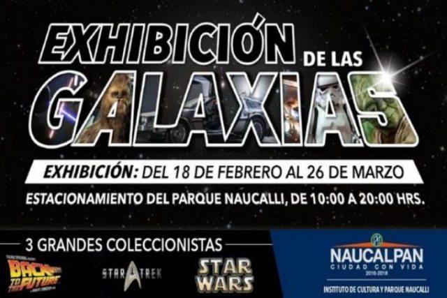 Exhibición de las Galaxias llega a México