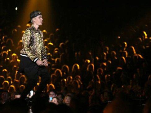 Concierto de Justin Bieber colapsó a la ciudad de Monterrey