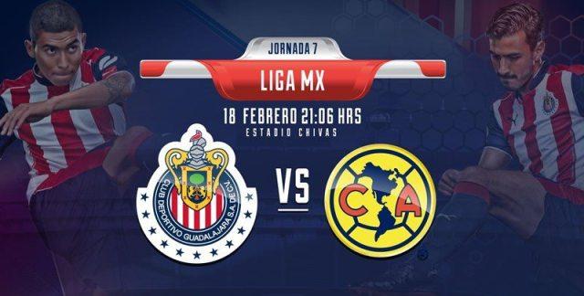 America VS Chivas en vivo