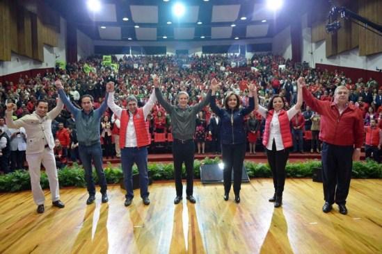 La unidad nos hace fuertes a todos: Alfredo Del Mazo
