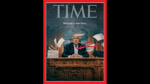 Así es la nueva portada de la revista Time