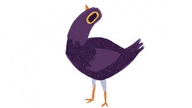 """Esta paloma desquiciada esta """"inundando"""" los comentarios de Facebook"""