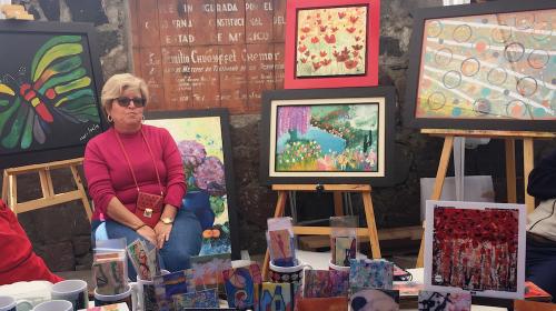 Mercado del arte y 10° aniversario de uniradio