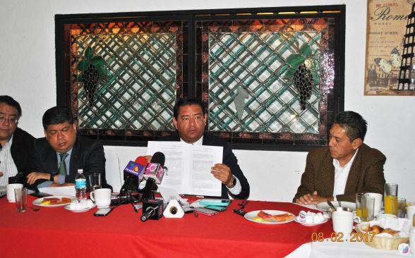 Eduardo Neri acusó a Juan Zepeda de rebasar el tope de gastos de campaña