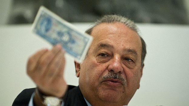 Salió Slim del top 5 de los hombres más ricos del mundo