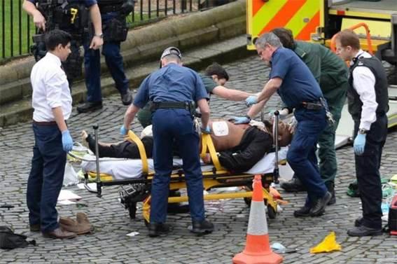 Difunden imágenes del sospechoso abatido en el Parlamento británico