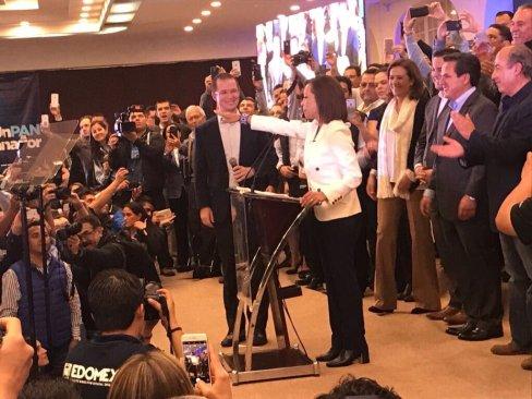 Rindió protesta Josefina Vázquez Mota como candidata del PAN