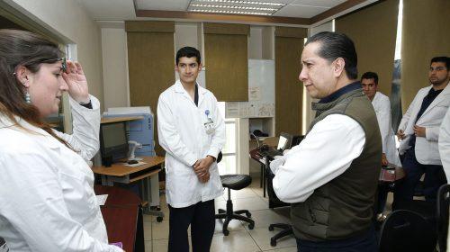 Supervisó Jorge Olvera avance en ampliación del CICMED