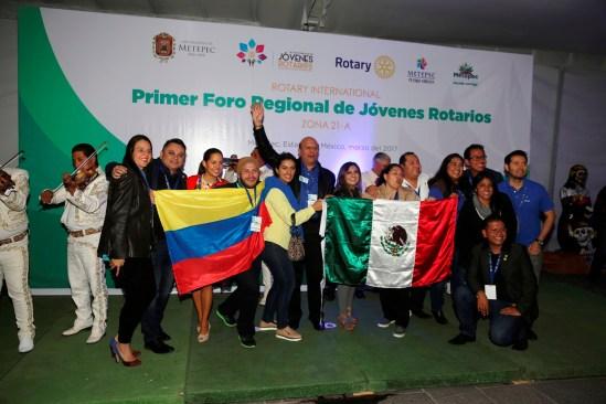 Fue Metepec sede del primer foro regional de jóvenes Rotarios