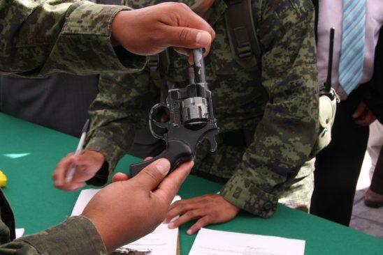 Canje de Armas en Toluca del 7 al 12 de marzo