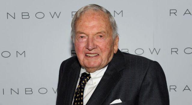 Muere David Rockefeller banquero multimillonario