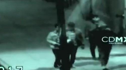 Karma: Después de asaltar y asfixiar a sí víctima, cayeron de puente peatonal