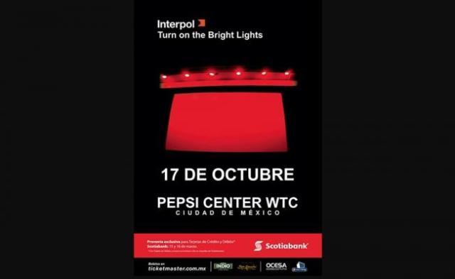 Ofrecerá Interpol show en la CDMX