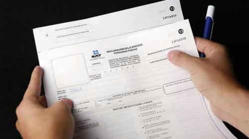 Así simplificó el SAT la declaración anual de impuestos