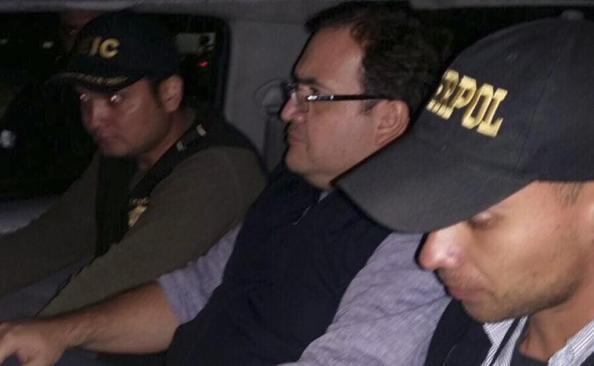 SRE solicitará a Guatemala extradición de Javier Duarte