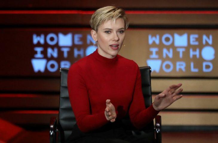 Scarlett Johansson podría postularse para un cargo público