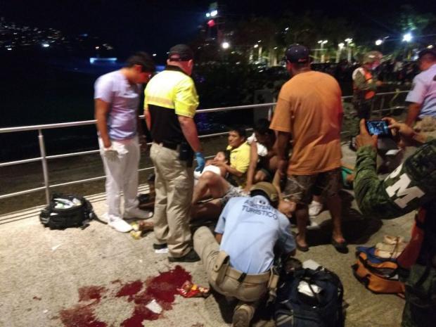 Balacera en Acapulco deja un muerto y seis heridos