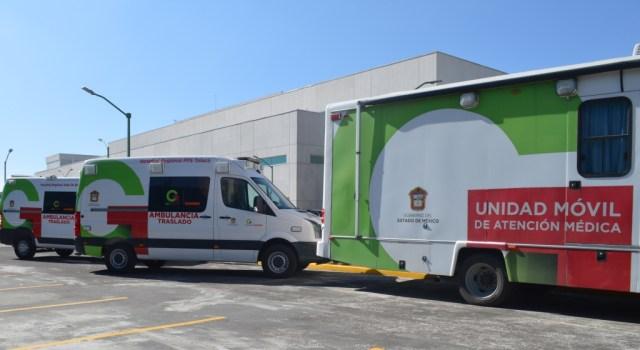 Cuenta Issemym con dos ambulancias más