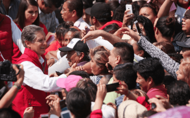 Promete Alfredo del Mazo acabar con la inseguridad