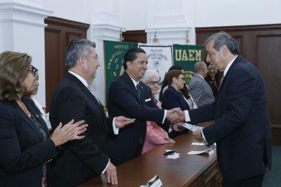 Docentes, figura toral y sustantiva en desarrollo de UAEM: Jorge Olvera