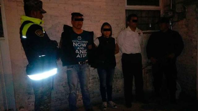 Detiene a tres miembros de una banda dedicada a la extorsión en Zinacantepec