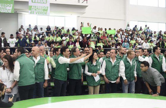 Proyecto de Alfredo del Mazo fijará el rumbo del Estado de México hacia el progreso: Partido Verde