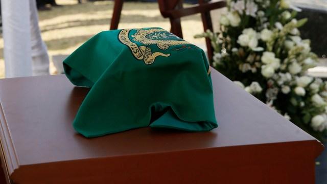 Restos de Leopoldo Flores descansan en Rotonda de las Personas Ilustres