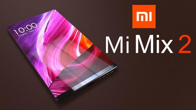 Se filtran nuevas características del Xiaomi Mi Mix 2