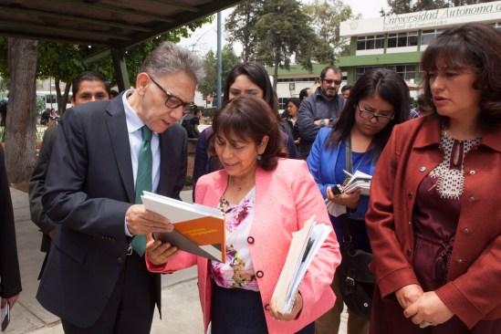 """""""Universitarios con Propuesta"""" consolidará calidad de UAEM: Barrera Baca"""