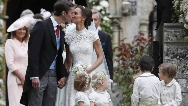 """Una boda casi real"" Pippa Middleton se casa James Matthews"