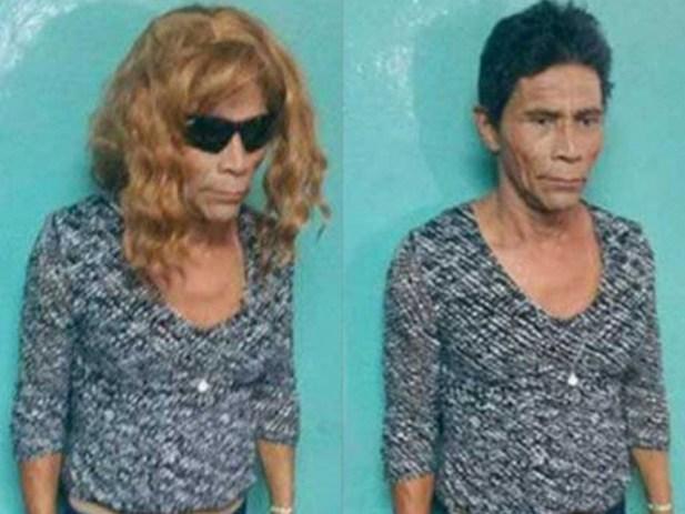 Pancho se disfraza de Jacinta; Preso se viste de mujer para escapar de la cárcel