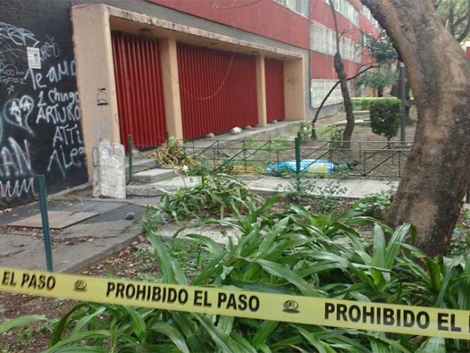 Muere hombre al caer de un edificio en Tlatelolco