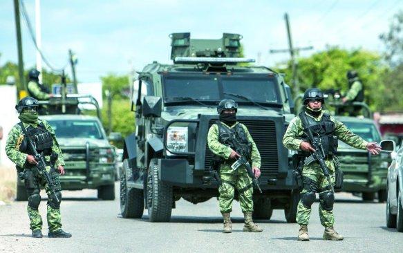 Siete muertos por un enfrentamiento entre militares y delincuentes
