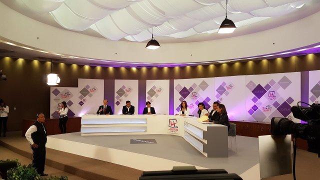 #EnVivo Segundo debate de los candidatos del Edomex en el IEEM